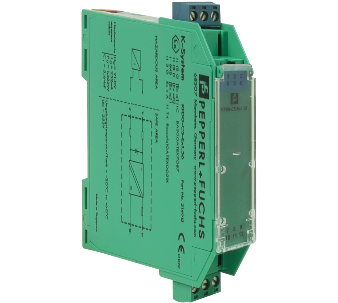 Ex Barrier For Intrinsic Safe Detectors Series Iq8quad I Intrinsically Wiring Business