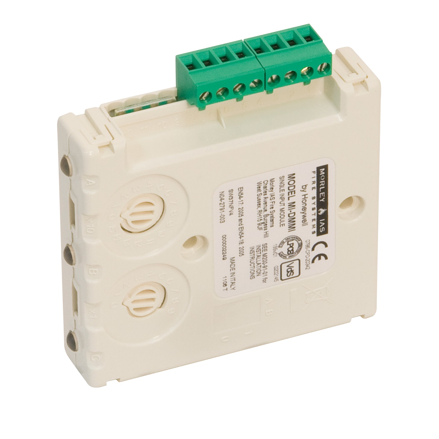 Single Channel Input Module Business Hls Austria Honeywell Home Alarm Wiring Diagram